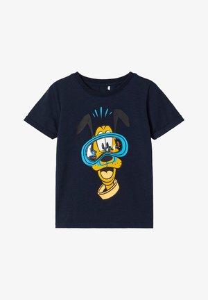 DISNEY  - T-shirt z nadrukiem - dark sapphire