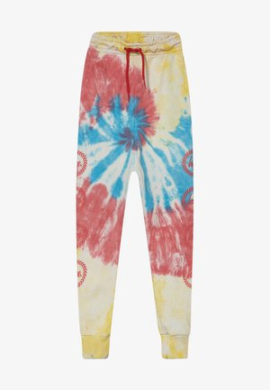 BOYS - Tracksuit bottoms - multicolor