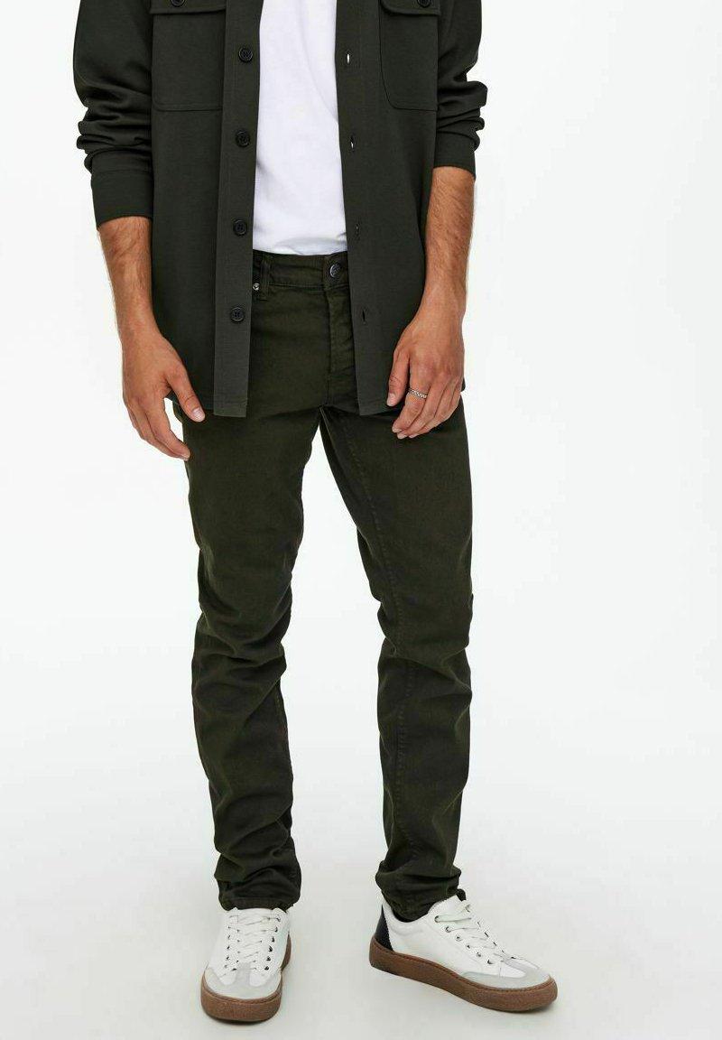 Uomo ONSLOOM LIFE TWILL - Jeans slim fit