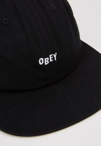 Obey Clothing - JUMBLED 6 PANEL STRAPBACK - Czapka z daszkiem - black