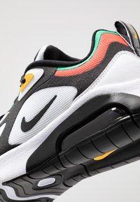 Nike Sportswear - AIR MAX - Trainers - white/black/bright crimson/university gold - 2