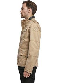 Brandit - HERREN BRITANNIA JACKET - Summer jacket - camel - 3