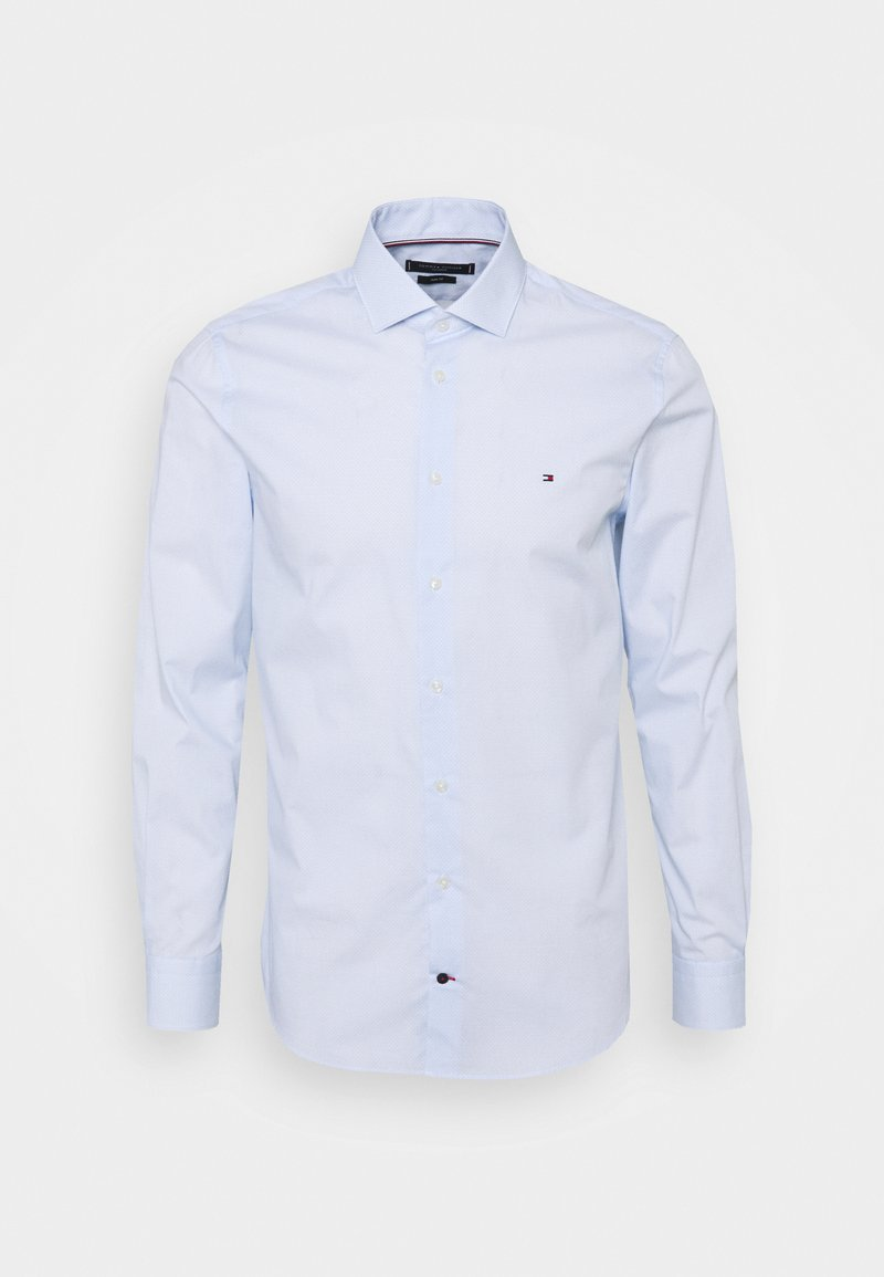Tommy Hilfiger Tailored - MINI GEO PRINT SHIRT - Formal shirt - light blue/white