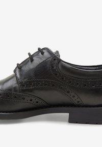 Next - Šněrovací boty - black - 4