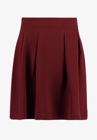 mint&berry - A-line skirt - bordeaux - 3