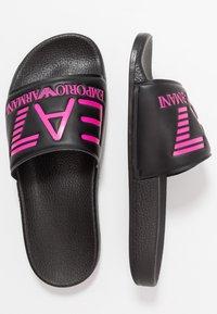 EA7 Emporio Armani - NEON - Sandaler - black / neon pink - 3