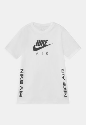AIR - T-shirt z nadrukiem - white