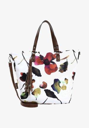 CHARLOTTE - Tote bag - white