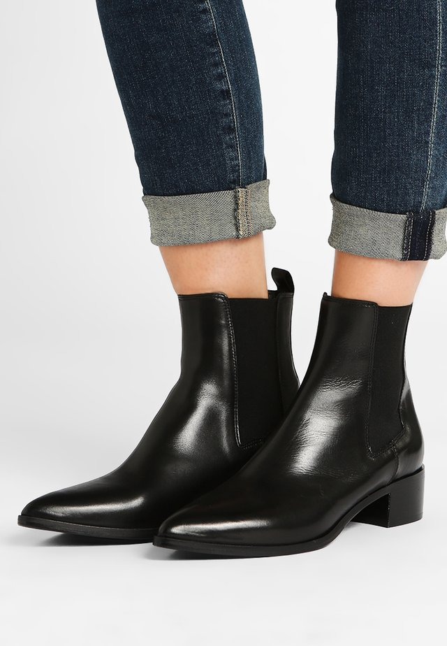 LOU - Bottines - black