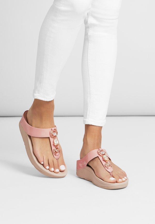 FINO - T-bar sandals - rose tan