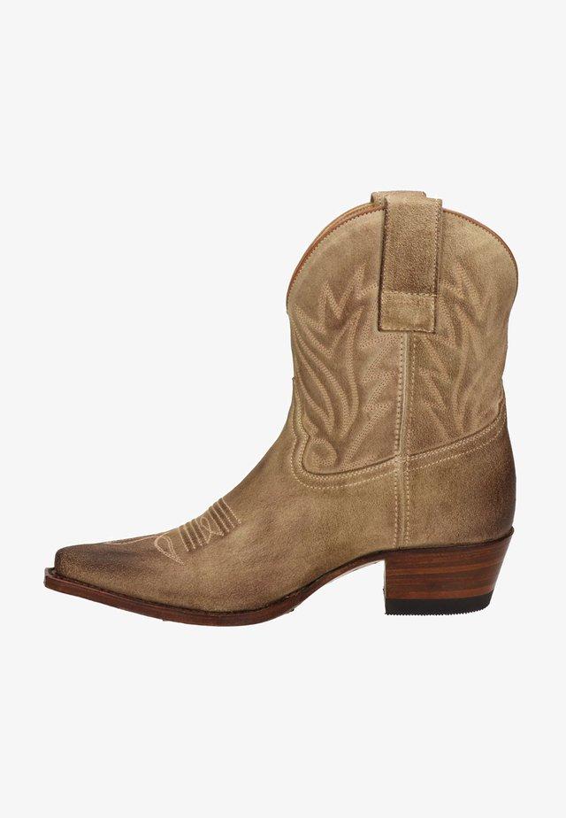Cowboy-/Bikerlaarsjes - beige