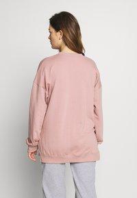 Missguided Maternity - MAMA - Bluza - rose pink - 2