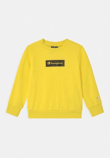 AMERICAN PASTELS CREWNECK UNISEX - Sudadera - yellow