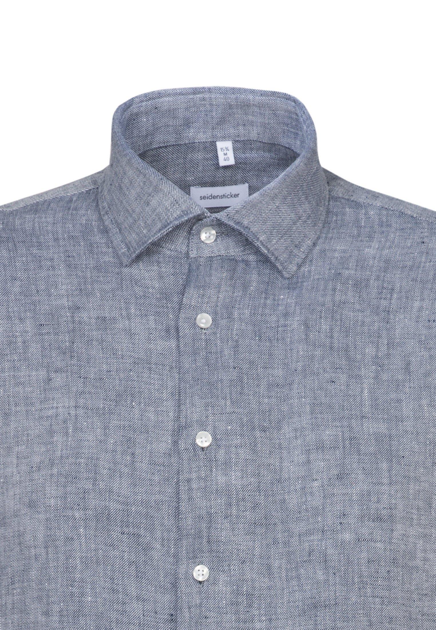 Seidensticker SLIM FIT - Koszula biznesowa - blau - Odzież męska 2020