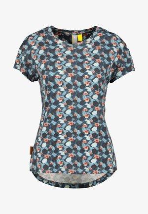 MIMMY B  - Print T-shirt - marine