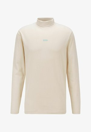 Long sleeved top - light beige