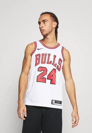 NBA CHICAGO BULLS LAURI MARKKANEN SWINGMAN - Club wear - white/university red/black
