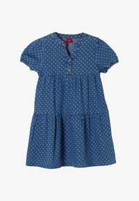 s.Oliver - Denim dress - blue dots - 1