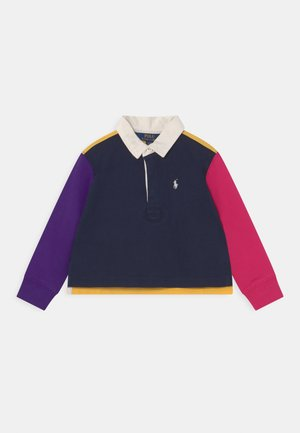 RUGBY - Polo shirt - hunter navy/multi-colured
