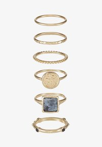Topshop - NEW TRAVELLER 6 PACK - Anello - gold-coloured - 1
