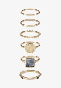 NEW TRAVELLER 6 PACK - Ring - gold-coloured