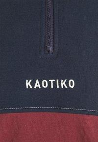 Kaotiko - UNISEX CREW ARNOLD - Sweatshirt - granate - 6