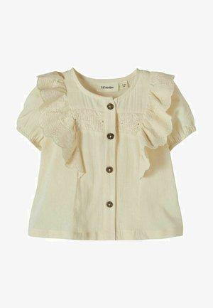 RÜSCHE - Button-down blouse - turtledove