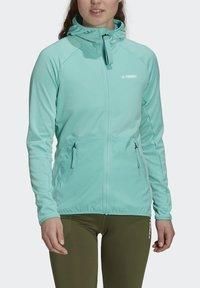 adidas Performance - Fleece jacket - green - 3