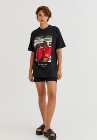 PULL&BEAR - THE NOTORIOUS BIG  - T-shirt con stampa - black - 1