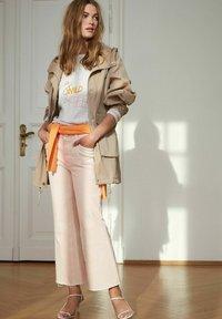 Oui - Sweatshirt - rose white - 5