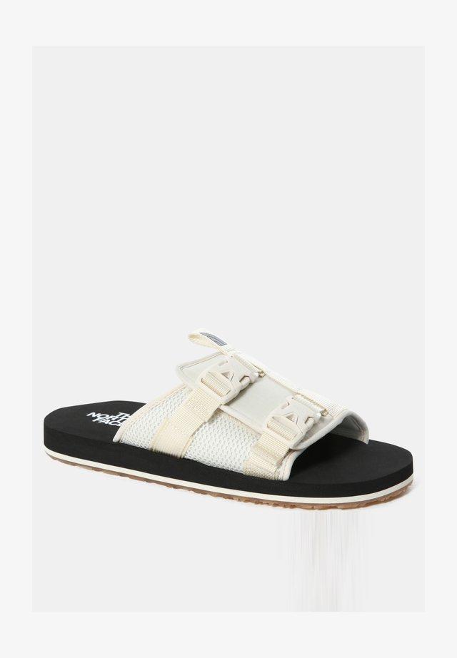 M EQBC SLIDE - Sandales de randonnée - vintage white/tnf black