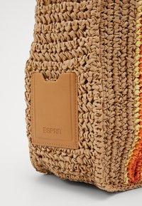 Esprit - DANA SHOPPER - Shoppingveske - camel - 3