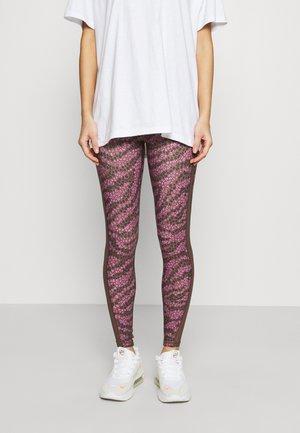 PRINTED REAL ME - Leggings - Trousers - relic
