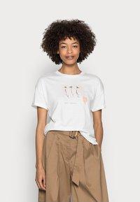 Esprit - T-shirts print - off white - 0