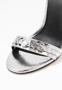 MICHAEL Michael Kors - GOLDIE SINGLE SOLE - High heeled sandals - silver - 2