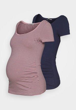 2 PACK - T-shirts med print - blue/multi-coloured
