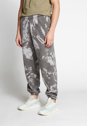 ROTATION TIE DYE JOGGER - Pantalon de survêtement - washed black