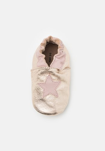 SMART MOOD - First shoes - or/rose