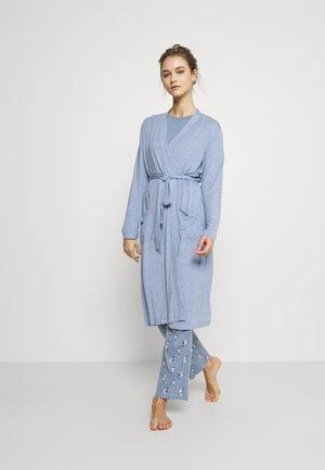 FALL ROBE - Dressing gown - light blue heather