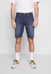 Levi's® - 501 HEMMED UNISEX - Denim shorts - roast beef - 0