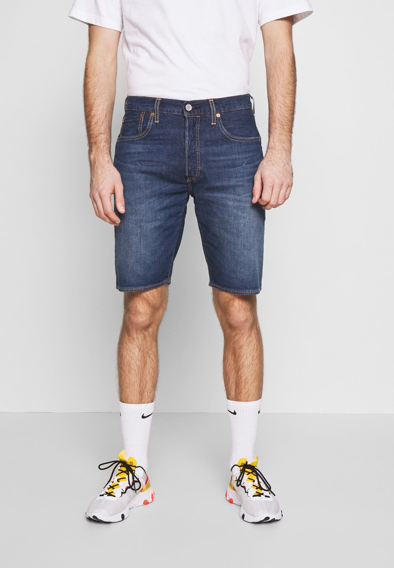 Levi's® - 501 HEMMED UNISEX - Denim shorts - roast beef