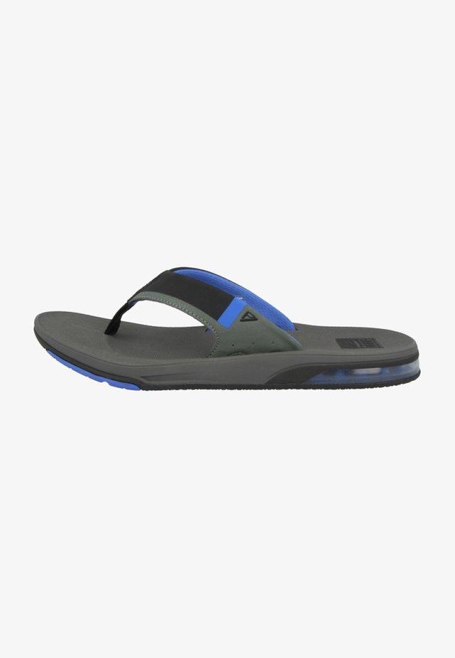 FANNING LOW - Sandaler m/ tåsplit - grey/blue