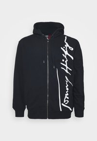 Tommy Hilfiger - SIGNATURE HOODED  - Zip-up hoodie - blue - 4