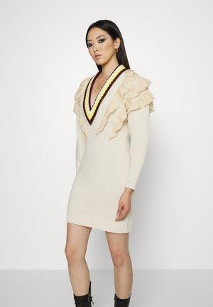 Gebreide jurk - ivory