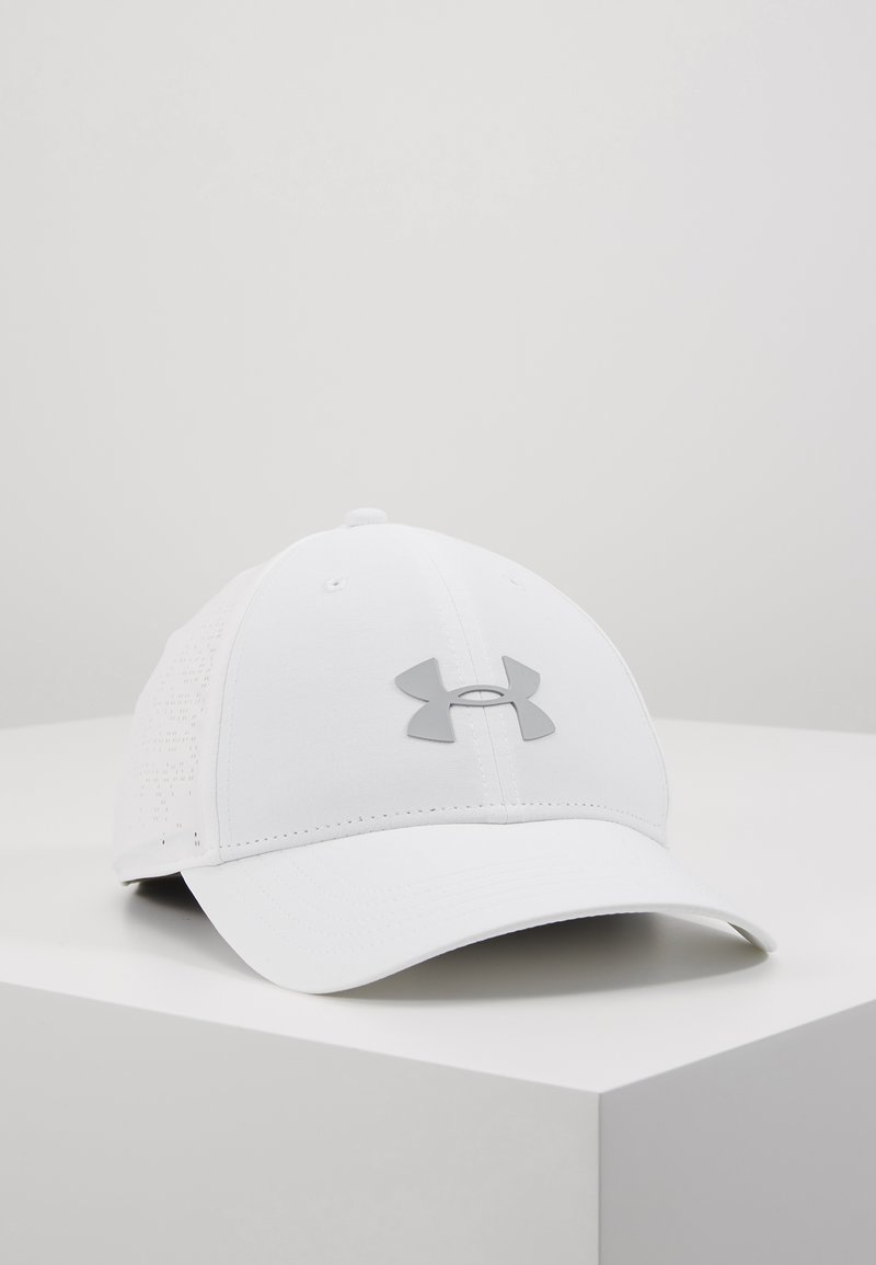 Under Armour - ELEVATED GOLF  - Cap - white/mod gray