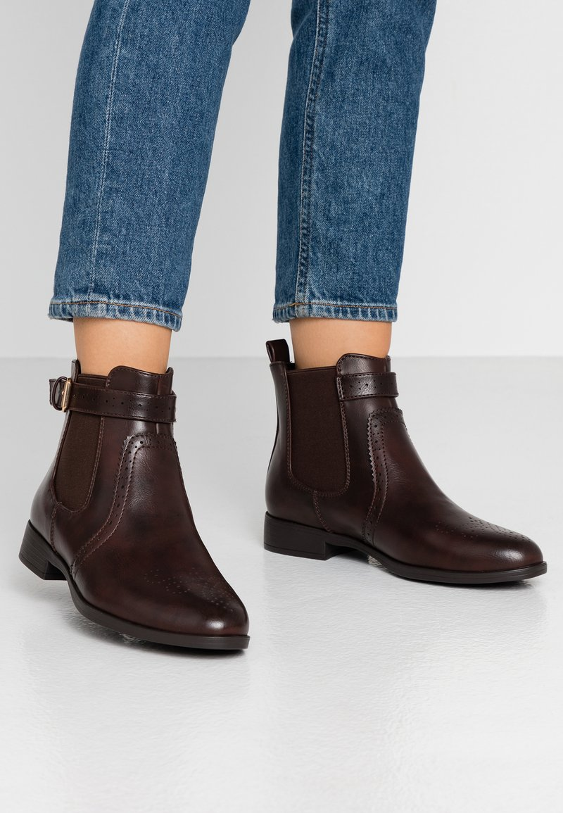 Anna Field - Ankelstøvler - dark brown