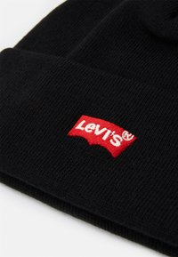 Levi's® - RED BATWING EMBROIDERED SLOUCHY BEANIE - Beanie - regular black - 2