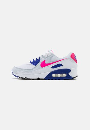AIR MAX 90 - Trainers - white/hyper pink/concord/pure platinum/black