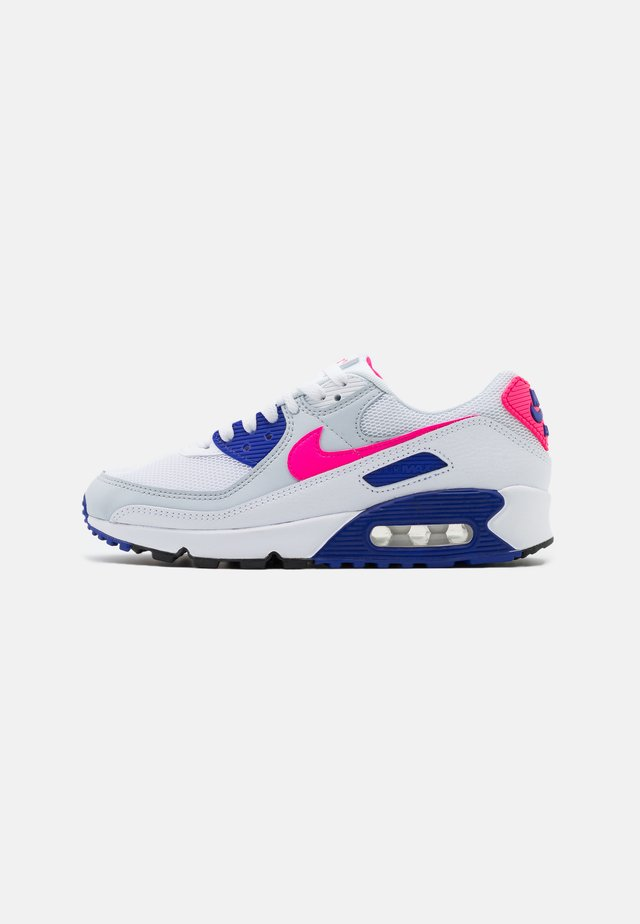 AIR MAX 90 - Sneakers basse - white/hyper pink/concord/pure platinum/black