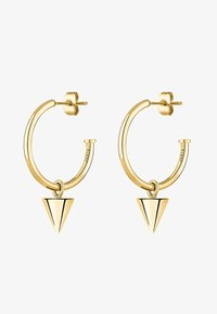 Liebeskind Berlin - LIEBESKIND CREOLE CONE  - Earrings - gold-coloured - 0